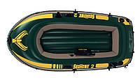 Двухместная надувная лодка Intex 68346 Seahawk