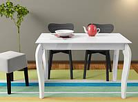 Стол деревянный Egoist белый (Comfy Home TM)