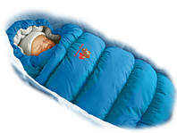 Зимний пуховый конверт-трансформер с меховой подкладкой Inflated василек, Ontario Baby