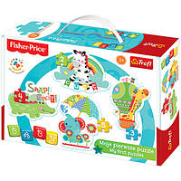 "Пазл ""Baby Classic - Rainbow Forest I"" / Fisher-Price, 36058"