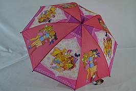 """Детский зонт """"Winx club"""" для детей  5 - 9 лет """"GoodLuck""""."""
