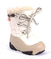 Дитячі зимові дутіки бежеві Demar 26-27 (17.0 cm)Joy, фото 1