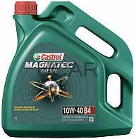 Castrol Magnatec Diesel 10W-40 B4 дизельное моторное масло, 4 л