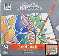 Набор пастельных карандашей 24 шт.  Fine Art Pastel металлическая коробка Cretacolor