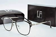 Оправа квадратная Linda Farrow черная, фото 1