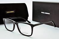 Оправа прямоугольная Dolce & Gabbana черная , фото 1