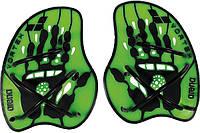 Лопатки для плавания arena VORTEX зеленые