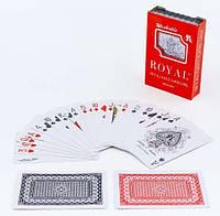 Карты игральные пластиковые ROYAL 54 листа IG-4564