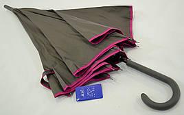 """Однотонный зонт трость с качественным каркасом от фирмы """"XSY"""""""