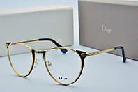 Оправа Dior золотая, фото 1