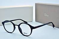 Оправа круглая Dior синяя, фото 1