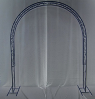 Садовая арка 01/2 черная