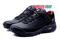 Мужские кожаные зимние ботинки Ecco Natural Motion Black Gore-Tex 40.41.44р