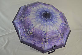 """Женский зонт полуавтомат лакэ абстракция от фирмы """"Universal"""" ."""
