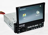 Магнитола 1Din PIONEER PI-903 GPS, выдвижной экран,Bluetooth!