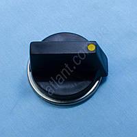Ручка регулировки универсальная для газовой плиты (черная)