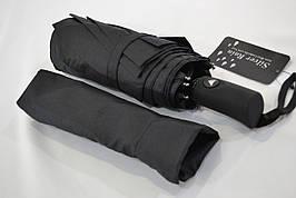 """Мужской зонт полуавтомат с клапаном """"анти-ветер"""" на 9 спиц из углепластика от фирмы """"SilverRain"""""""
