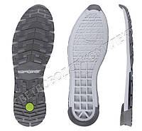 Подошва для обуви Зидан-8 ТР (Zidan-8), с цветной вставкой 45