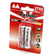 Акумулятор (AA) NiMn, 2700 mAh, блістер 2 шт. Артикул 51-236-012