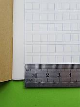 Тетрадь для написания иероглифов. Клетка 7 мм с полем для пиньинь. 6272 клетки