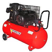 Трехфазный компрессор Forte W-0.5/100, 3 кВт, 520 л/мин, 10 бар, ресивер-100 л, 107 кг
