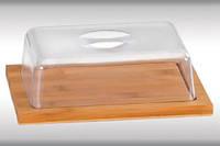 Доска бамбуковая с крышкой, Kesper 50643