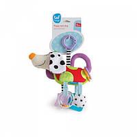 Развивающая игрушка-подвеска - СМЫШЛЕНЫЙ ПЕСИК 11695