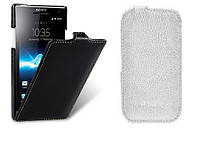 Чехол для Sony Xperia S/SL LT26i - Melkco Jacka leather case, разные цвета