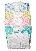 """Комплект для новорожденного """"Беби"""" Габби 8004 р.62 белый с голубым рисунком"""