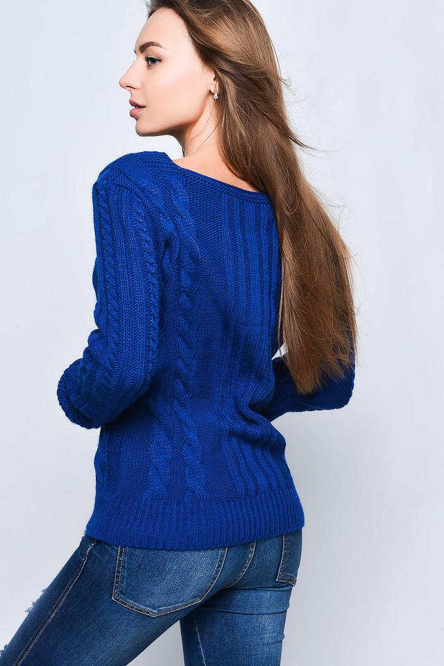 Фото-1 Вязаных женских свитеров Грейс