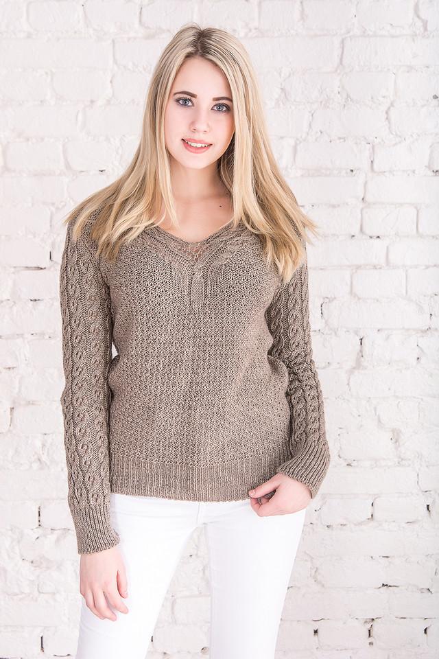 Цвет фрез Вязаных женских свитеров Блайс