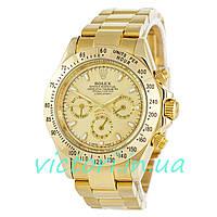 Мужские механические часы Rolex Daytona Gold (Ролекс Дайтона)