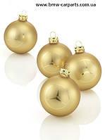 Набор из четырех елочных шаров Mercedes-Benz Christmas balls, Classic Stars!