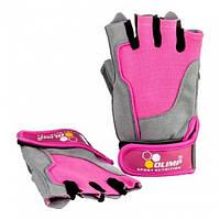 Перчатки HARDCORE FITNESS ONE Pink размер S