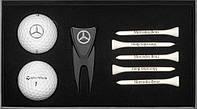 Подарочный набор для гольфа Mercedes-Benz Golf Gift Set, Black / White
