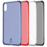 "TPU чехол Baseus Simple (Anti-fall) для Apple iPhone X (5.8"")"