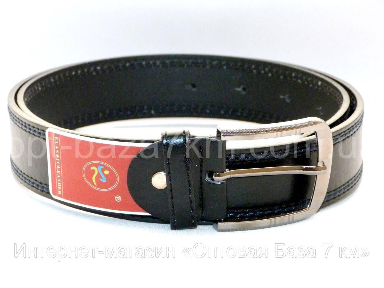 6b8f25efc751 Ремень мужской оптом классический с прошивкой купить в одессе 7 км - копии  брендов