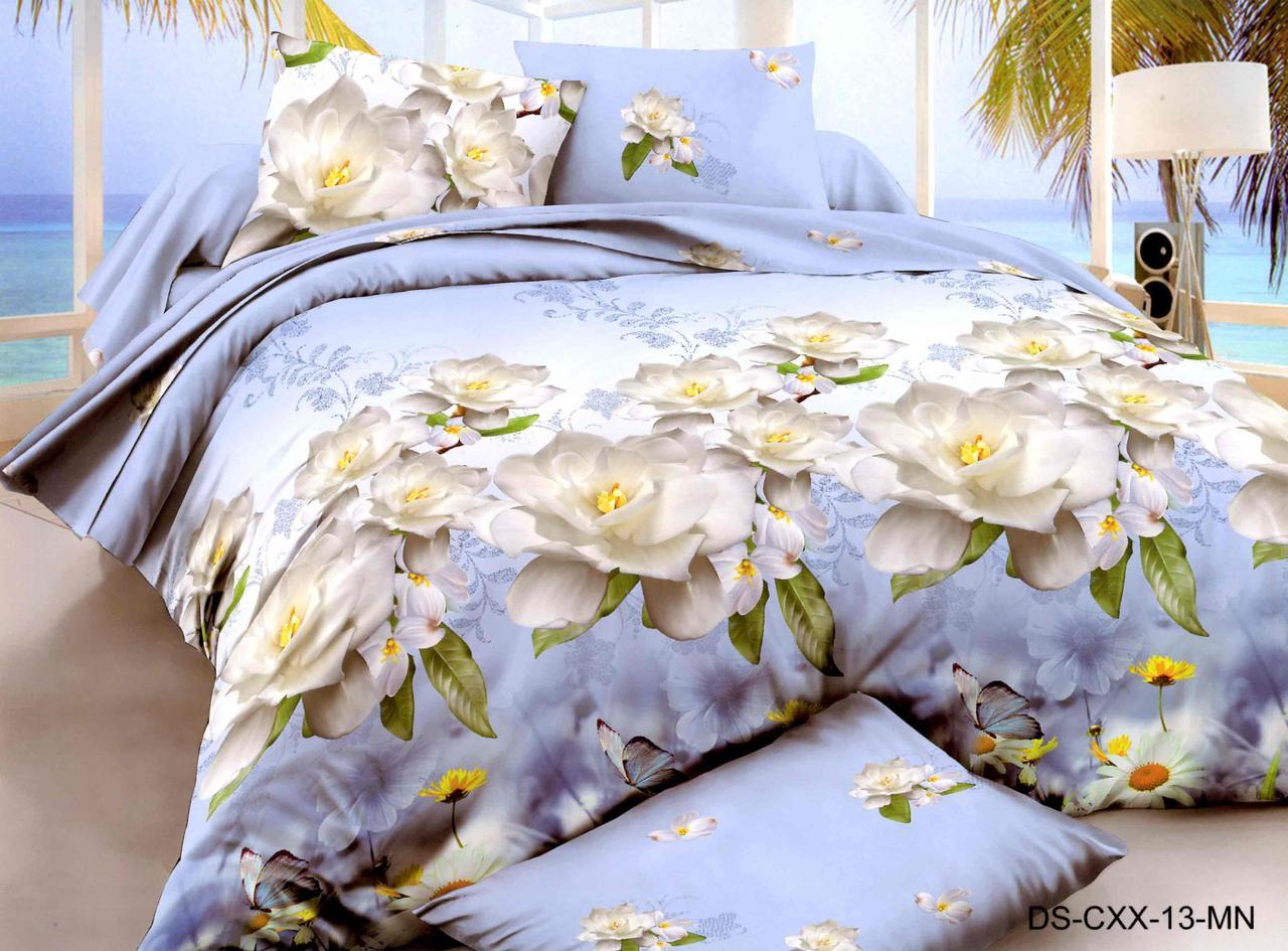 Двуспальный набор постельного белья 180*220 из Полиэстера №173 Черешенка™