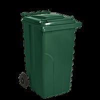 Бак мусорный ТМ Алеана 240л. (зеленый)
