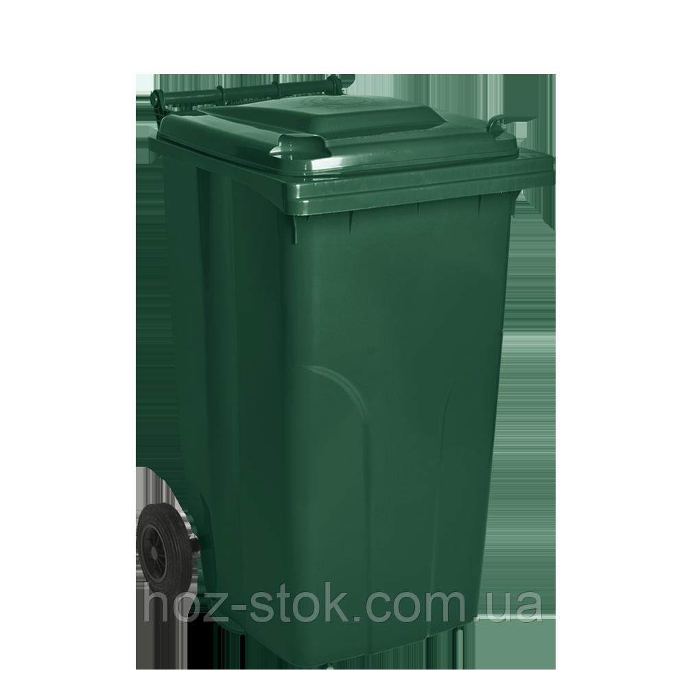 Бак мусорный ТМ Алеана 240л. (зеленый) - интернет-магазин HOZ-STOK в Белой Церкви