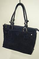 Женская кожаная сумка Solana 21386 blue. Двухсторонняя модель