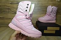 Женские сапоги Adidas Terrex Розовые