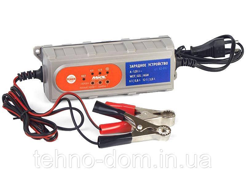 Зарядное для аккумуляторов авто Miol 82-012