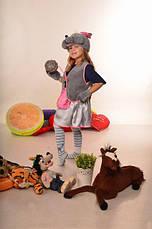 Карнавальный костюм Мышка для девочки 3-7 лет. Детский новогодний маскарадный костюм на Новый Год, фото 2