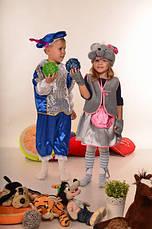 Карнавальный костюм Мышка для девочки 3-7 лет. Детский новогодний маскарадный костюм на Новый Год, фото 3