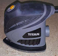 Вибрационная шлифовальная машина (утюжок) TITAN TTB595SDR (Англия)