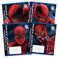 "Тетради ""Spider-Man"" (""Человек-Паук""), 18 листов, клетка."