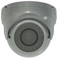 Видеокамера interVision XP-388WAI (антиванд купол, варифокал)