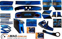 Комплект тюнинга салона ВАЗ 2101-07 (ALL inclusive) BLUE