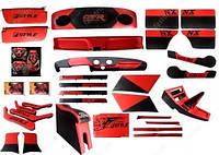 Комплект тюнинга салона ВАЗ 2101-07 (All inclusive) RED